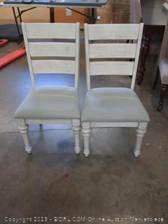 Heartland Side Chairs, Gray, Set of 2
