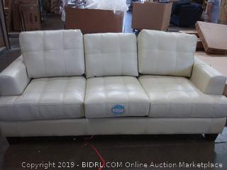 Arine Queen Sleeper Sofa by Red Barrel Studios, Cream (Online $1029.99)