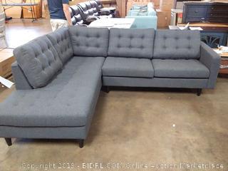 Warren Sectional Sofa by Langley Street, Left Hand Facing (Online $1399.99)