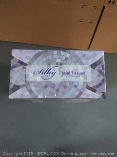 Silky Soft Facial Tissues 10 Boxes (1,000) count