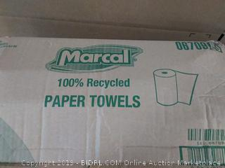 Marcal 100% Recycled Paper Towels 15 Count