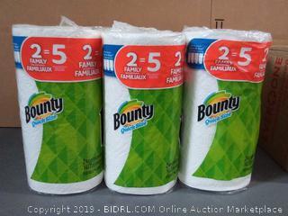 Bounty Quick Size 6 Rolls