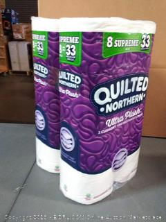 Quilted Northern Ultra Plush Supreme Toilet Paper, 24 Count x 2