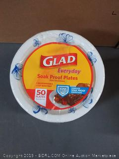 Glad Soak Proof Plates 200 count