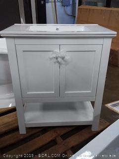 "Cambria Manchester 30"" Single Bathroom Vanity Set (Online $449.00)"