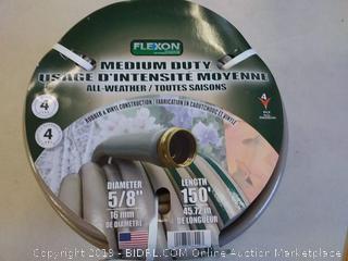 Flexon 5/8 in. Dia x 150 ft. Medium Duty Reel Hose-FHR58150 - The
