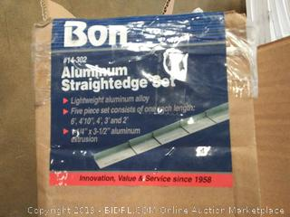 Bond 14-302 Aluminum Straightedge Set