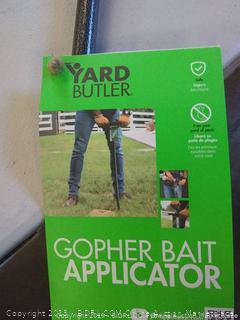 yard Butler gopher bait applicator