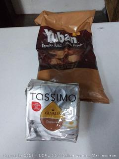 Tassimo cappuccino K-Cups in Avon regular roast 100% arabica coffee variety pack