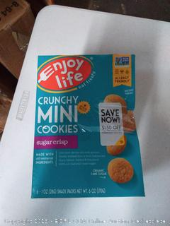 Enjoy Life Crunchy Minis Cookies Gluten Free Sugar Crisp -- 3pk