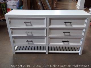 Eloise 6 Drawer Double Dresser B124-23, by Beachcrest Home (Online $608.18)