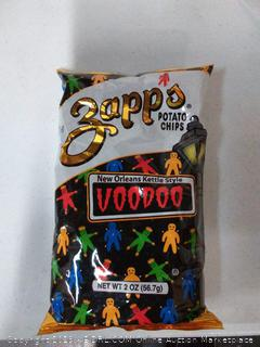 Zapps New Orleans Kettle-Style Potato Chips, Voodoo Flavor 140 count
