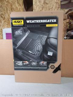 Husky Liners 98971 Black Fits 2013-18 Toyota RAV4 Weatherbeater Front & 2nd Seat Floor Liners (Factory Sealed) online $163