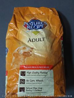 natural recipe adult dog food