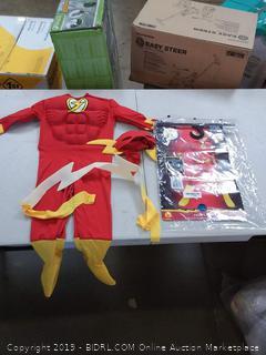 DC flash toddler infant costume