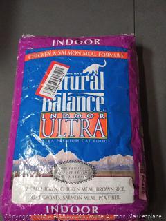 indoor Natural Balance cat food