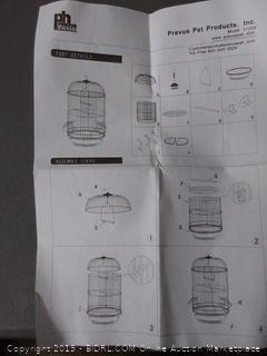 prevue pet small round bird cage