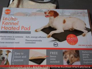k&h lectro kennel heated pad