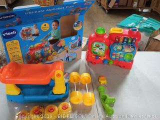VTech fast and unlimited alphabet train