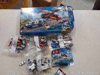 LEGO City Sky Police Diamond Heist 60209 Building Kit , New 2019 (400 Piece)