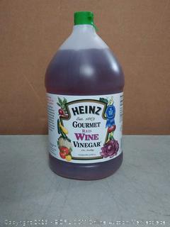 Heinz Gourmet red wine vinegar 1 gallon