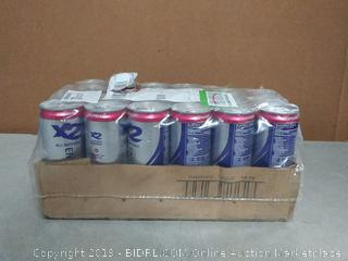 X2 all natural healthy energy drink(Missing 2 Cans)