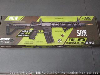DPMS Co2 Air Rifle Crosman DSBR Co2 Powered, Full Auto BB AIR Rifle