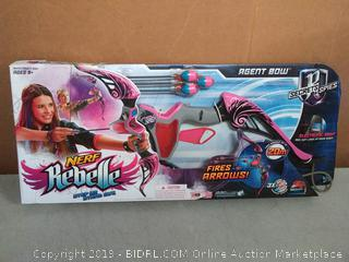 Nerf Rebelle Agent Bow pink