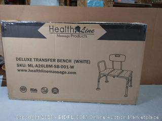 Deluxe transfer bench White(Factory Sealed) COME PREVIEW!!!!
