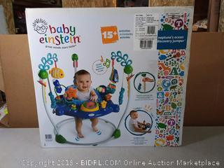 Baby Einstein Neptune's Ocean Discovery Jumper(Factory Sealed/Box Damage) COME PREVIEW!!!! (online $137)