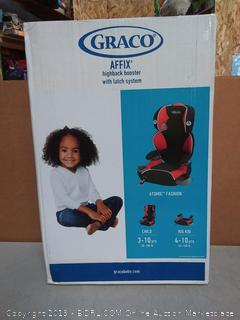 Graco Affix high-back booster(Factory Sealed) COME PREVIEW!!!! online $52