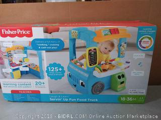 Fisher-Price Laugh & Learn Servin' Up Fun Food Truck(Factory Sealed) COME PREVIEW!!!!