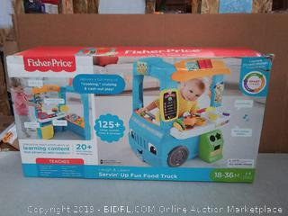 Fisher-Price Laugh & Learn Servin' Up Fun Food Truck(Factory Sealed) COME PREVIEW!!!! (online $59)
