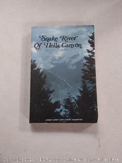 Snake River Of Hells Canyon Book Used Good Condition