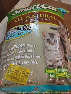 smartcat all natural clumping litter 20 lb bag