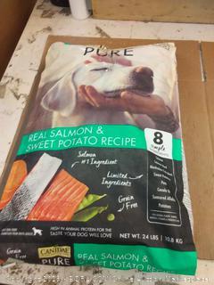 canidae pure real Salmon & sweet potato recipe adult dog food