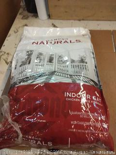 Diamond Naturals indoor cat chicken and rice formula 18 lb bag