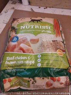 Rachael Ray Nutrish super premium food for cats real chicken and brown rice recipe 14 lb bag