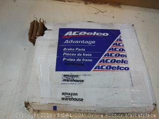 ACDelco 18A1827A Advantage Non-Coated Front Disc Brake Rotor