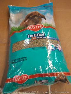 Kaytee forti-diet Pro Health rabbit food 10 lb bag