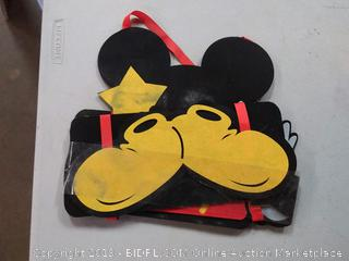hand-tied Mickey Mouse party supplies Mickey Mouse door decoration welcome to my party Banner
