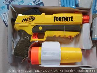 Nerf fortnite toy gun elite