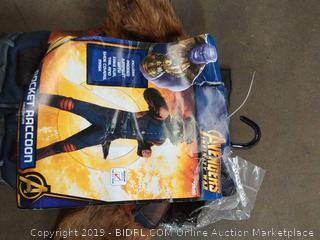 Avengers Infinity War Rocket Raccoon child's costume