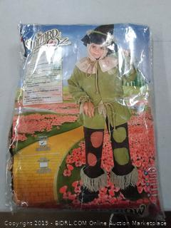 The Wizard of Oz scarecrow for toddlers size 2 to 4 for 1 to 2 year olds