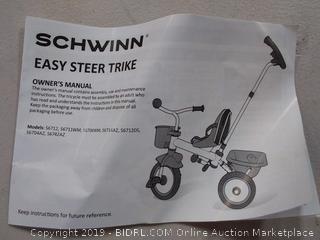 Schwinn easy steer 2 in 1 trike
