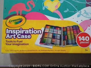 Crayola inspiration art case 140 pieces