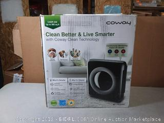 Coway air purifier (online $136)