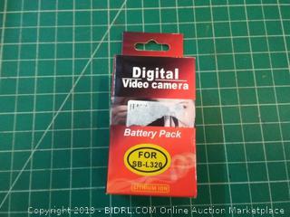 digital video camera battery pack