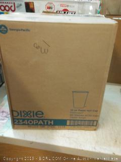 Dixie 10 oz paper hot cup 20 sleeves