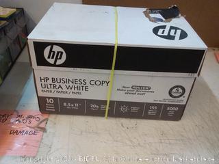 HP business copy ultra white copy paper